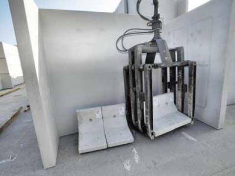 Kraan voor betonelementen