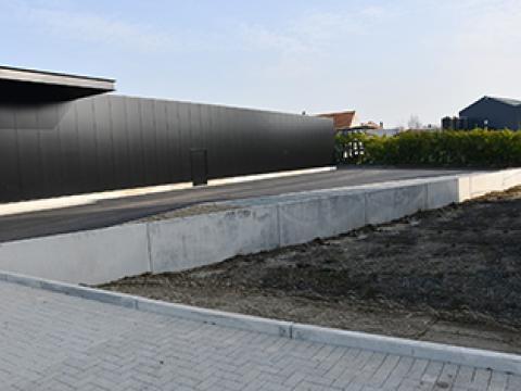 Albert Heijn, Keerwanden CBS beton