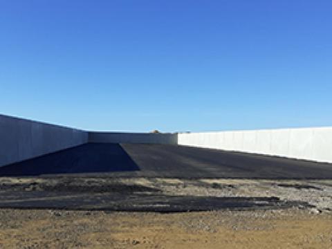 Biogasinstallatie in Landres, Frankrijk.