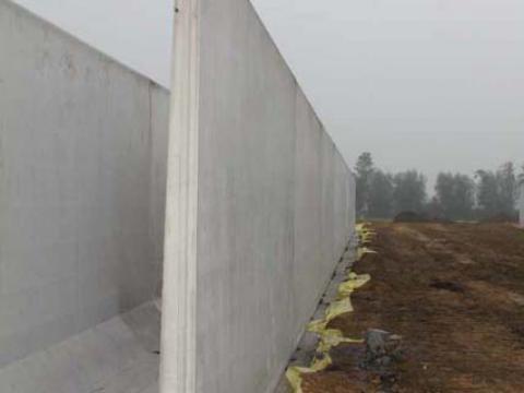 betonplaten voor silo
