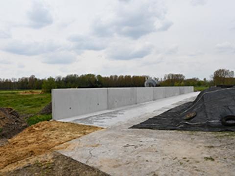 L-keerwanden landbouw CBS Beton Wielsbeke