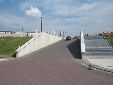 Betonplatten Brücke