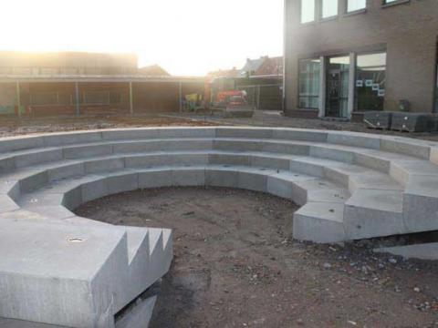 Amphithéâtre école à Waregem
