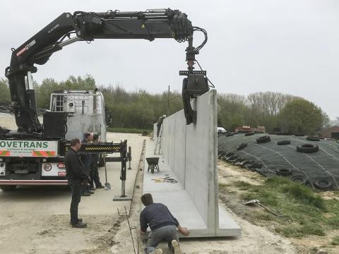 CBS Beton murs AGRI L Silage Safe Maarkedal 4