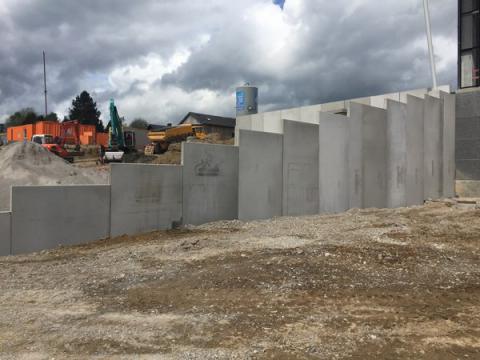 Murs en L H 1 m tot 6 m à Florennes
