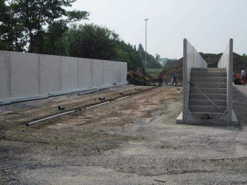 Voorbereiden grondwerken asfaltering