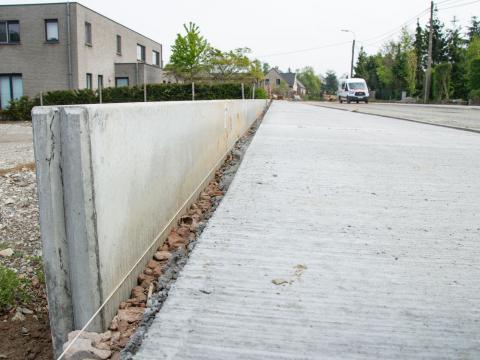 Murs de soutènement Besix Maarkedal CBS Beton 1