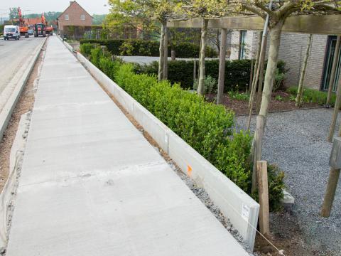 Murs de soutènement Besix Maarkedal CBS Beton 2
