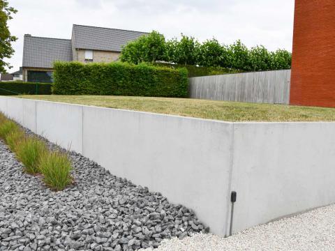murs de soutènement, marches et dalles de sol CBS Beton Sint-Eloois-Winkel 3