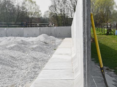 Keerwanden CLF10GS CBS beton