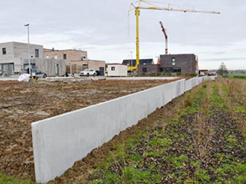 Stützmauern CLS10GS, CBS beton, Wielsbeke
