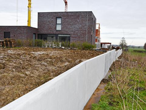 Murs de soutènement  CLS10GS, CBS beton, Wielsbeke