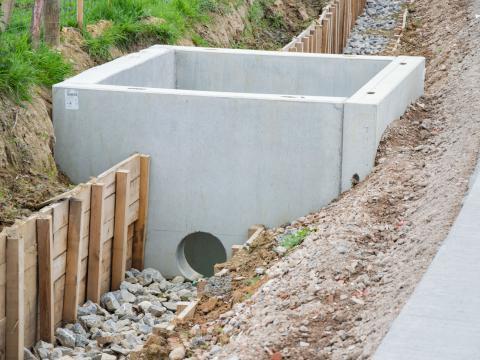 Murs de tête Besix Maarkedal CBS Beton 1