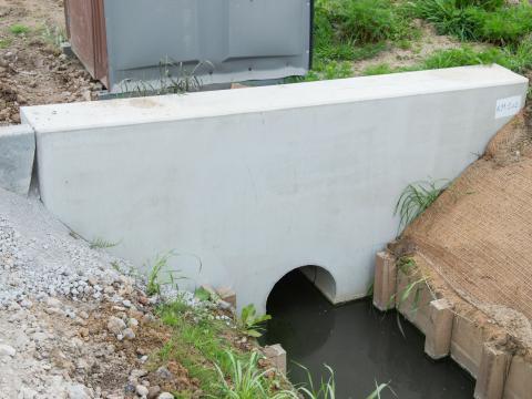 Murs de tête Besix Maarkedal CBS Beton 2