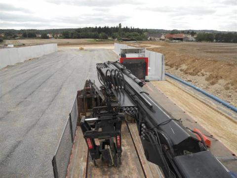 Keerwanden voor biogas centrale