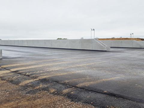Landers Biogas 3cm, Cbs Wielsbeke, France, Lanbouw, Keerwanden