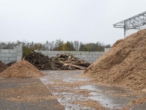 Modulobloc stapelbare betonblokken voor houtbewerkingsbedrijf 1