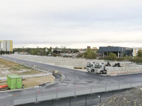 Modulobloc betonblokken voor stockage