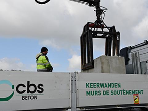 Modulobloc, CBS BETON Wielsbeke, Betonblokken