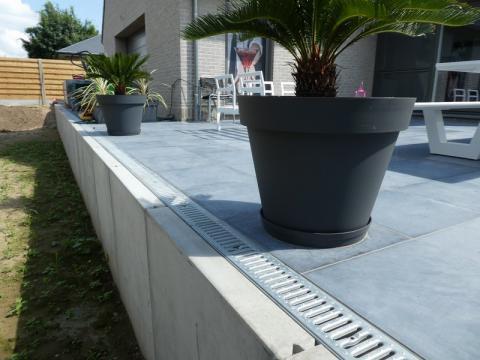 Aanleg tuin met CLF10GS125/100