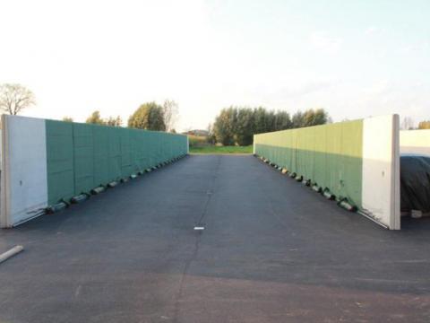 Abdecksystem Stutzmauern