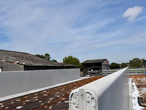 Sleufsilo landbouwbedrijf CBS beton
