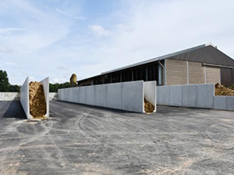 Sleufsilowanden, Sleufsilo, Landbouw, CBS Beton, Wielsbeke 5