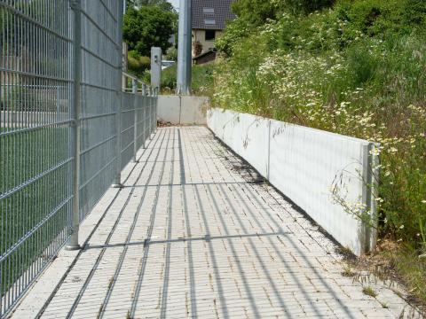 Sportinfrabouw Anderlecht murs de soutènement beton CBS 5