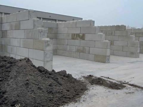 Stapelblokken in beton