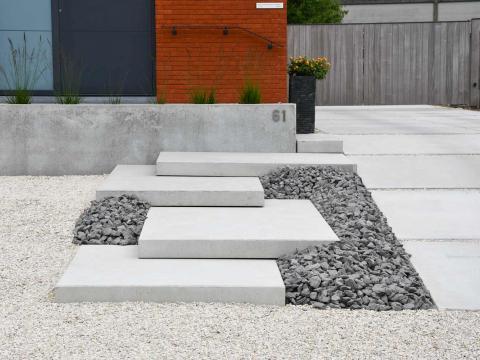 murs de soutènement, marches et dalles de sol CBS Beton Sint-Eloois-Winkel 4