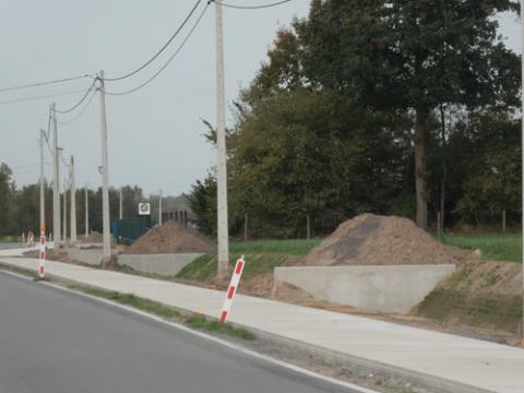 Murs de tête Zomergem