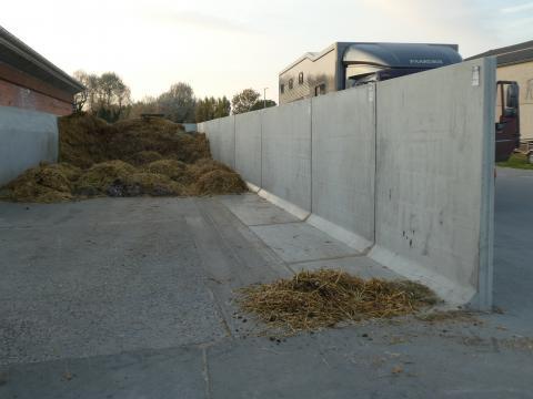 Fumier murs en L H 2 m type CLF10GSE200
