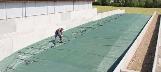 Système de couverture de silo