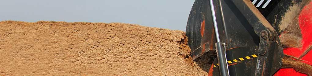 Couverture pour silo tranché